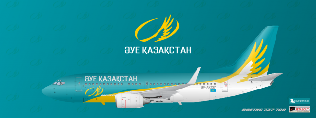 Air Kazakhstan airplane photo